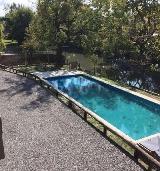 Venta - departamento 3 ambientes al río - jardines del