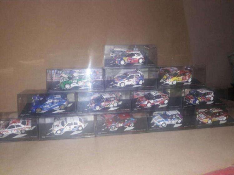 Autos de rally de coleccion escala 1:43