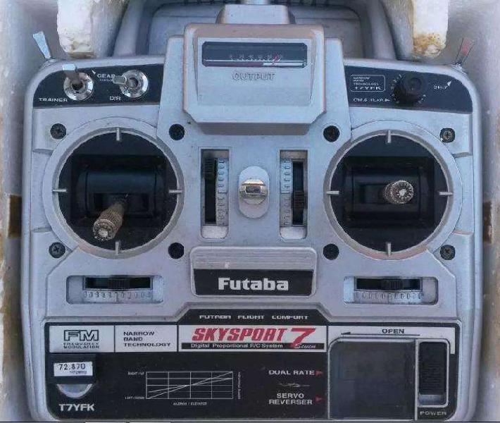 Futaba skysport 7 radiocontrol