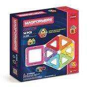 Magformers set rainbow 14 piezas juego de construcción