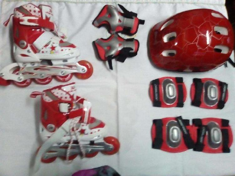 Patines rollers kit completo n29