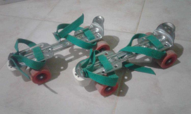 Patines metalicos extensibles
