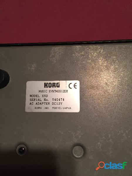 Vendo 1 Teclado Sintetizador Korg X5D 1
