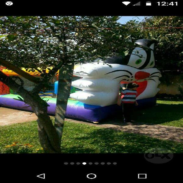 Castillo inflable 30.000