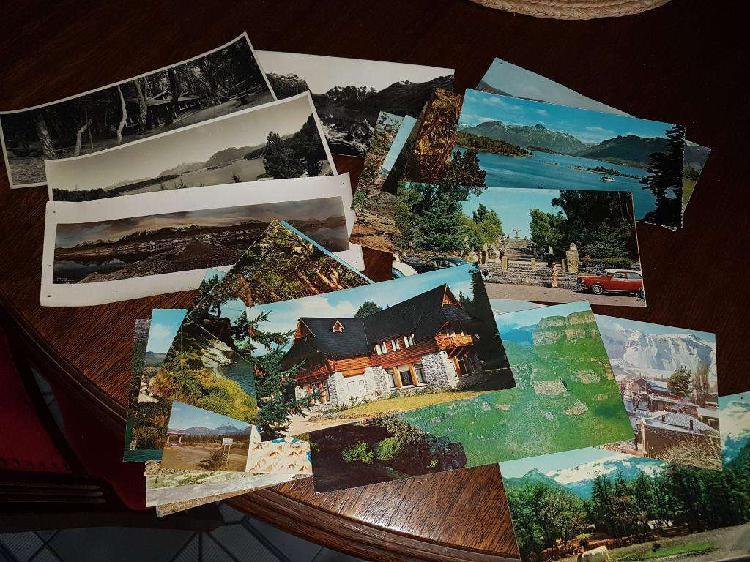 Lote postales panoramicas antiguas