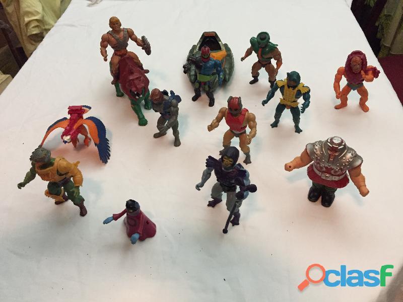 En venta el Lote de 14 figuras de He man originales de los años 80' 1