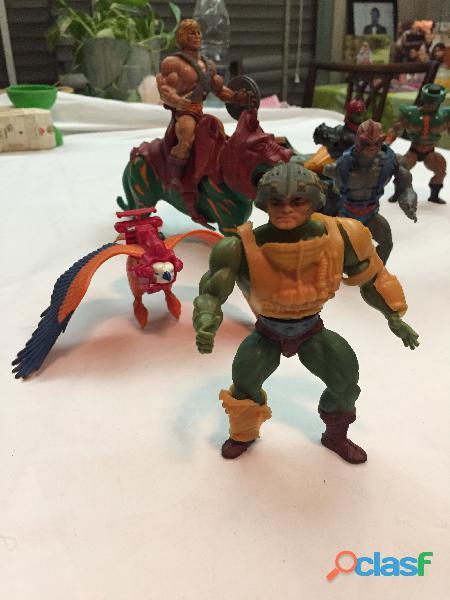 En venta el Lote de 14 figuras de He man originales de los años 80' 2