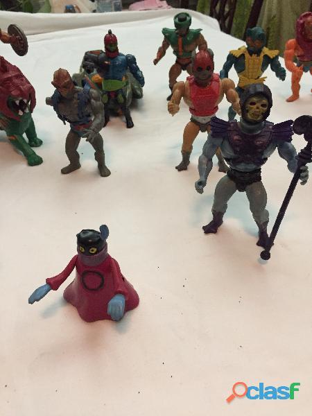 En venta el Lote de 14 figuras de He man originales de los años 80' 3