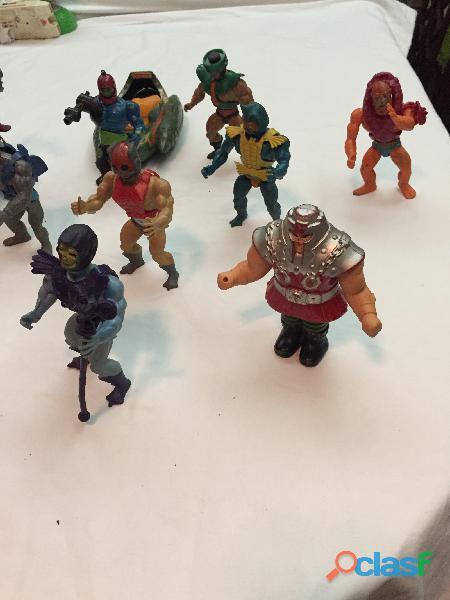 En venta el Lote de 14 figuras de He man originales de los años 80' 4
