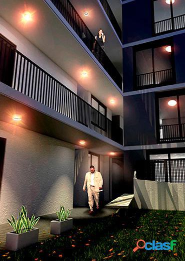 Departamento de 1 dormitorio al frente con balcón y terraza exclusiva 2