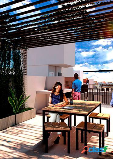 Departamento de 1 dormitorio al frente con balcón y terraza exclusiva 3