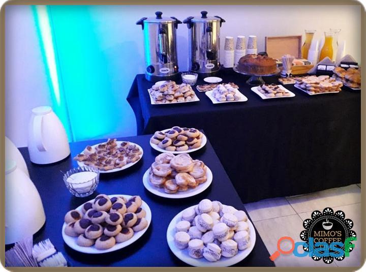 Coffee Break para eventos coorporativos y/o sociales 1