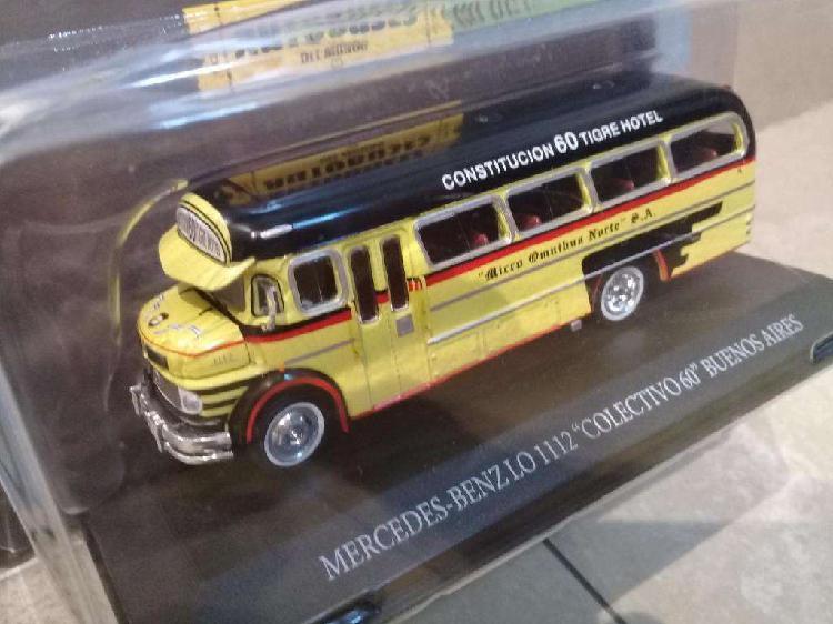 Colección Autobuses Del Mundo Colectivo De La Linea 60