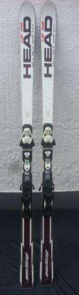 Esquíes head i.gs team con fijaciones usados