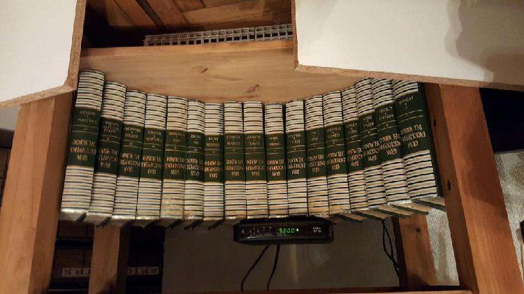 Gran enciclopedia del mundo d*u*r*v*a*n* 25 tomos usada