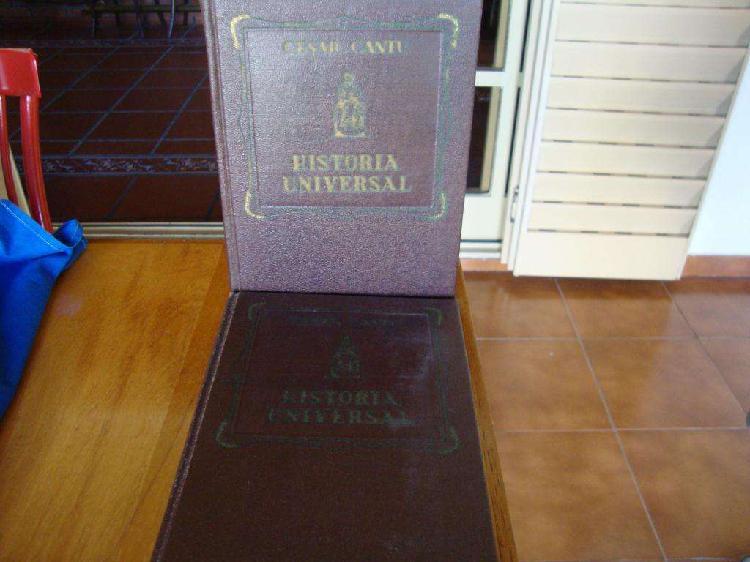Historia universal cesar cantu 11 tomos