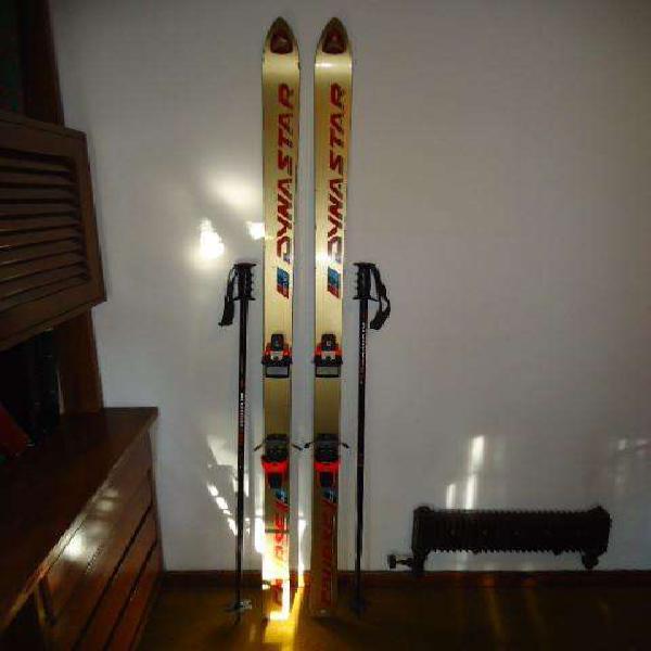 Tablas de ski dynastar course 203cm. esquies c/bastones