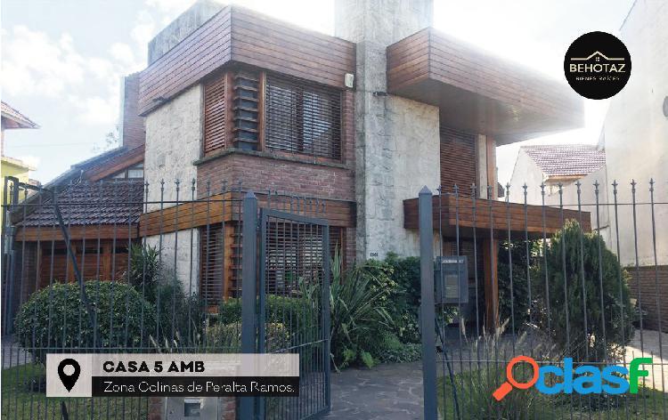 Casa 5 ambientes | colinas de peralta ramos