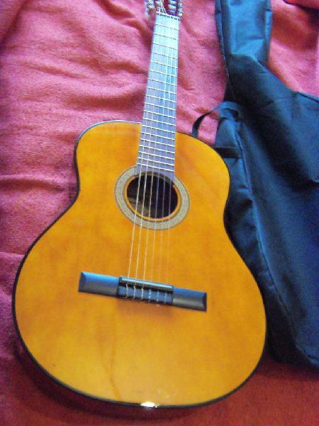 Guitarras criollas, nuevas, con funda, de estudio,