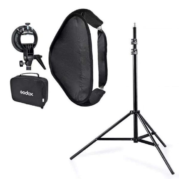 Kit de iluminación para fotografia.