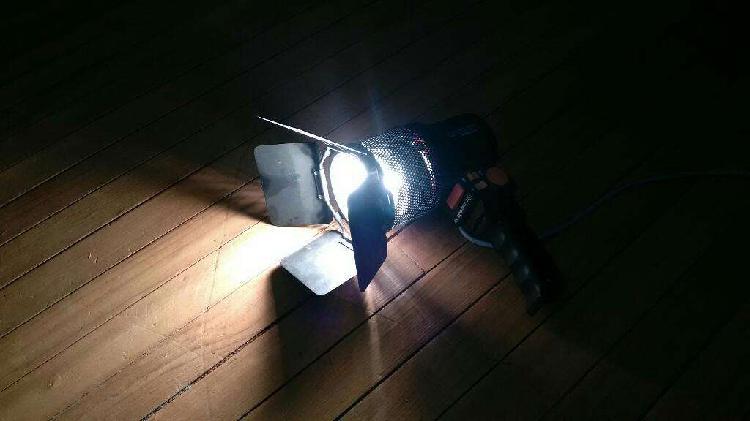 Proyector portatil para fotografia y filmacion.
