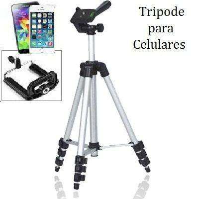 Tripode Universal Telescópico Celular Cámaras Tablet,