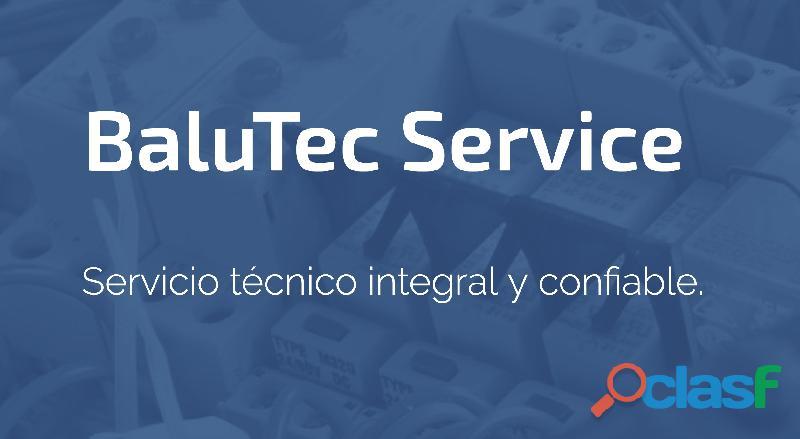 Servicio técnico integral a domicilio a hogares, empresas, campos, locales y turismo.