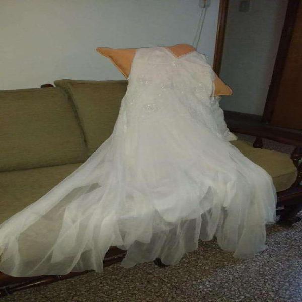 Vestido de novia largo