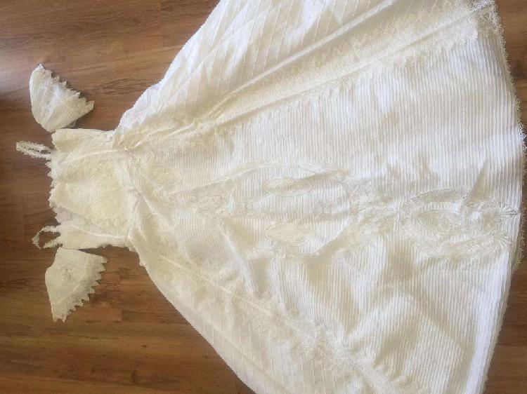 vestido de 15/novia estilo campestre