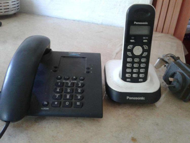 2 TELEFONOS 1 FIJO OTRO INALAMBRICOS