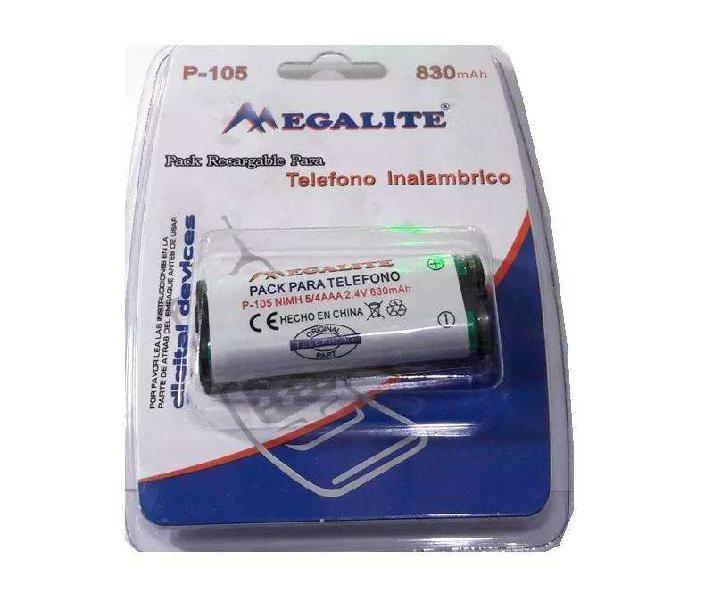 Bateria Pila MEGALITE P/Telefono Inalambrico Panasonic 2.4v
