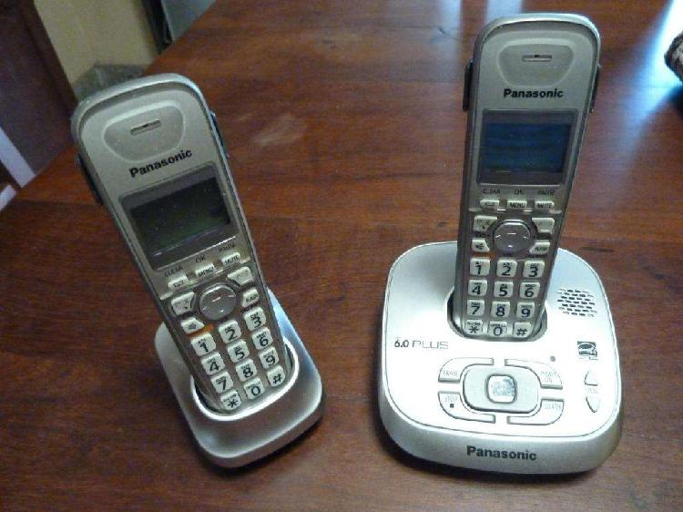 Telefonos inalambricos panasonic con contestador 1.500.-