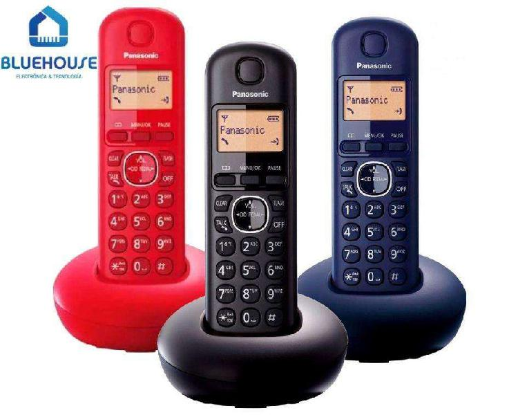 Teléfono Inalambrico Digital Panasonic Kx-tgb210 Azul