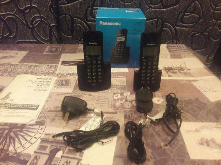 Teléfono Inalámbrico Panasonic Kx-tgb112 Duo Dect Caller