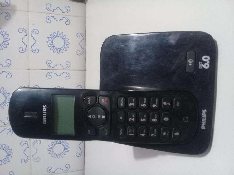 Teléfono inalámbrico Phillips Dect 6.0