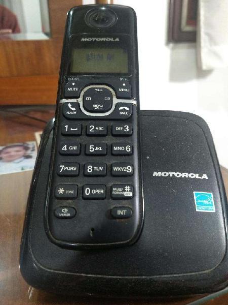 telefono inalambrico Motorola muy buen estado impecable
