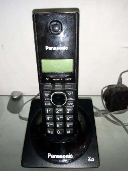 telefono inalambrico panasonic duo 6.0 ident.