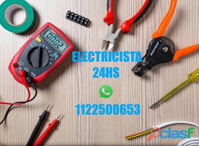 Servicio de electricista en coghlan 1122500653