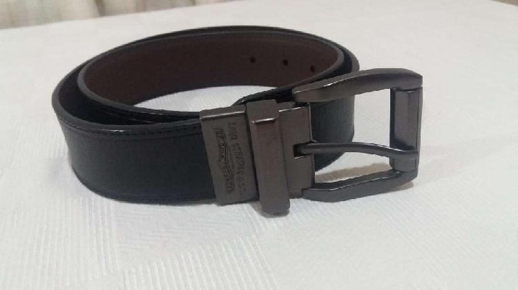 Cinturón levis reversible 32/80 negro/marrón