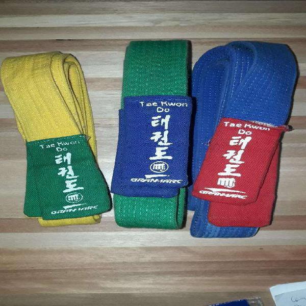 Cinturón taekwondo