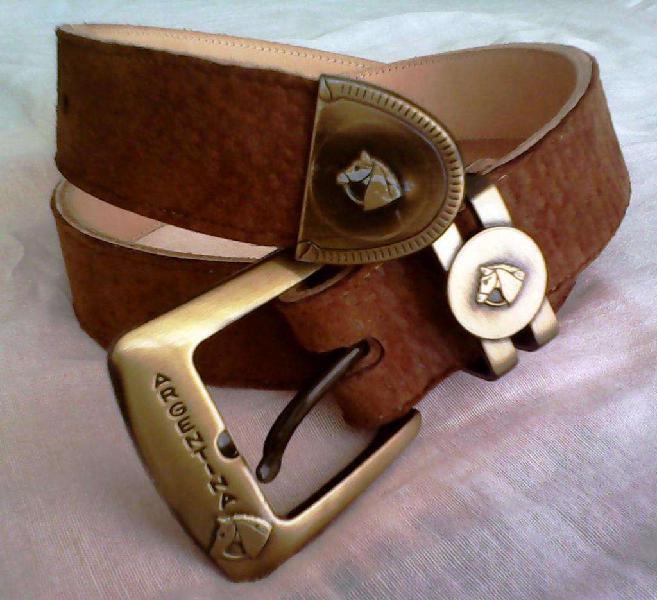 Cinturón de cuero para hombre