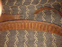 Cinturon de caza en cuero perfecto cartuch 16 ind. argentina