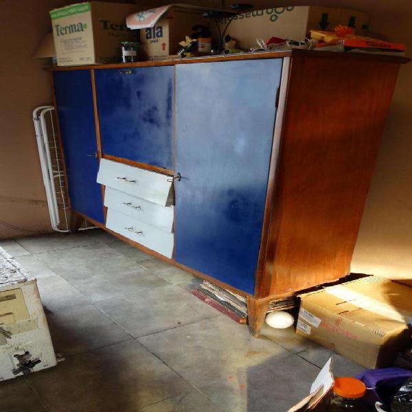 Aparador, modular, cristalero. mueble para cocina.