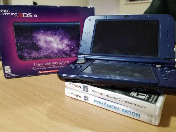 Consola new nintendo 3ds xl dos juegos