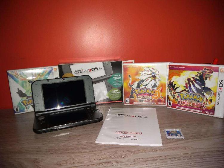 Nintendo 3ds xl 4 juegos