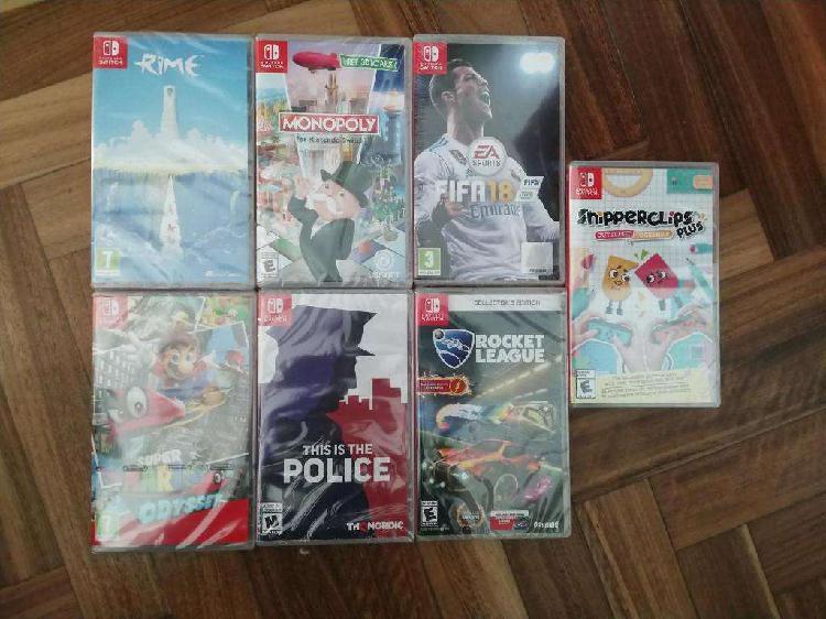 Nintendo switch: juegos nuevos