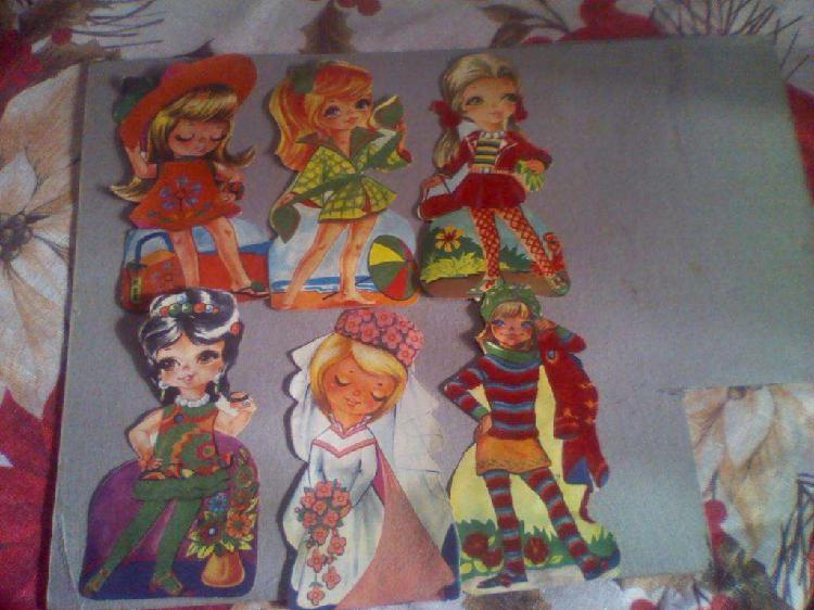 50 figuritas la moda atraves del tiempo decada del 6o