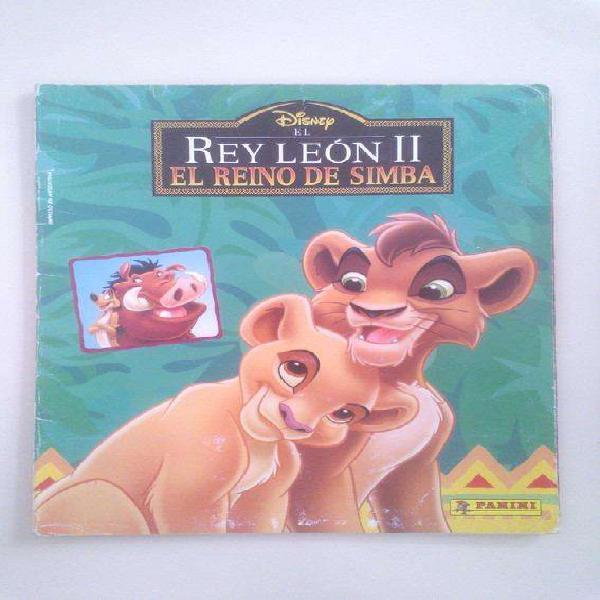 Album figuritas disney el rey leon 2 panini casi completo
