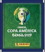 Figuritas copa america brasil 2019 panini- pack 25 paquetes