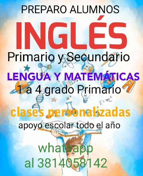 Ingles Preparo Alumnos